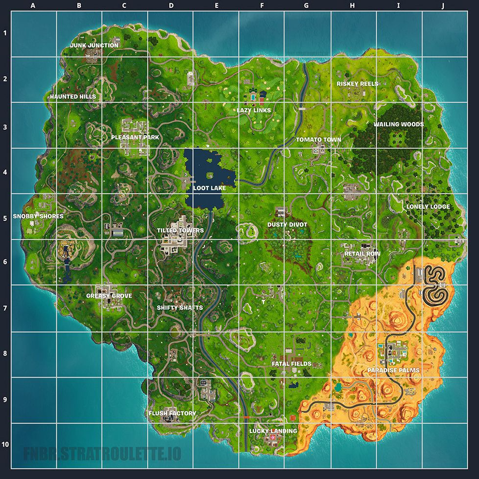 Fortnite Strat Roulette Map